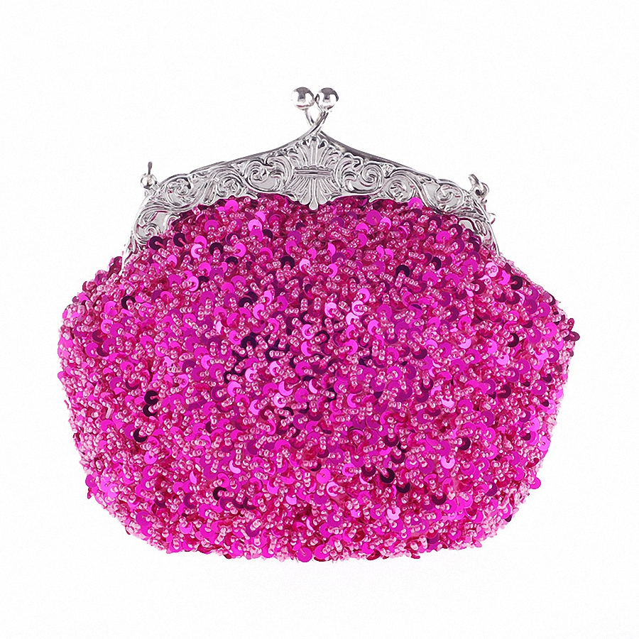 Fashion Women Evening Bag Pearl Bead Rhinestone Day Clutches Female Wedding Bridesmaid Party Banquet Charm Chains HandbagLI-1280<br><br>Aliexpress