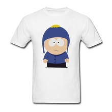 Craig Male T Shirt South Park Home Wear Custom Made Loose T-Shirt Boy Short Sleeve O Neck Camisetas Guys Latest Unique Tee Shirt