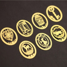 Cute Kawaii Gold Metal Bookmark Fashion Birdcage Crown Cat Clips for Books Paper Creative Products Stationery Free shipping 446