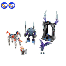 toy dream Bela 10594 Block 26Nexus Knights Building Blocks set Lance vs. Lightening Kids gift bricks Lepin 70359 - Luck Love Baby Toy Store store