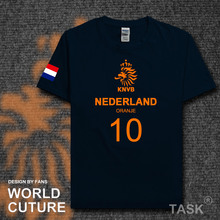 Nederland NLD Dutch Netherlands national footballer team t shirt men t-shirt jerseys FA brand clothing streetwear Holland 2017