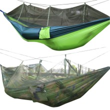1-2 Person Mosquito Net Parachute Hammock Outdoor Camping Hanging Army Green Sleeping Bed Swing Portable Double Chair Hamac