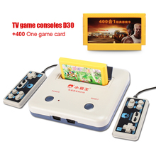 High-quality TV game player Retro classics games 400 games play card + original card two card game console free delivery(China)