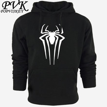 2016 spring New Spiderman Sweatshirt Men Hoodies Fashion Solid Hoody Men Pullover Men's Tracksuits male coats