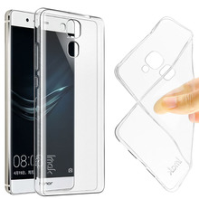IMAK Ultra Thin Transparent Soft TPU Gel Case For Huawei GT3 Back Cover for Huawei Honor 5C/Honor 7 Lite 7lite Slim Silicon Case