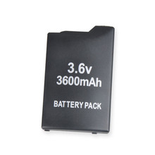 4 pcs 3.6v 3600mAh Battery Pack For Sonyfor PSP 2000 Slim and Lite 3000 with package(China)