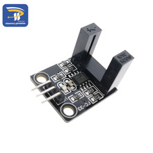 Beam photoelectric sensor Electric counter module LM393 motor count speed sensor module test module groove coupler module(China)