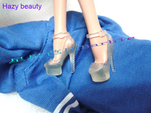Hazy beauty different styles for choose Casual Boots High heel Dance Sports shoes for Barbie 1:6 Doll Fashion Newest BBI00129(China)