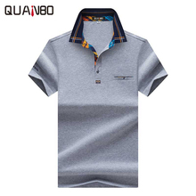 New Arrival 2017 Men's Brand Polo Shirt For Men Designer Polos Men Cotton Sleeve shirt Fashion Embroidery Polo Homme Camisetas