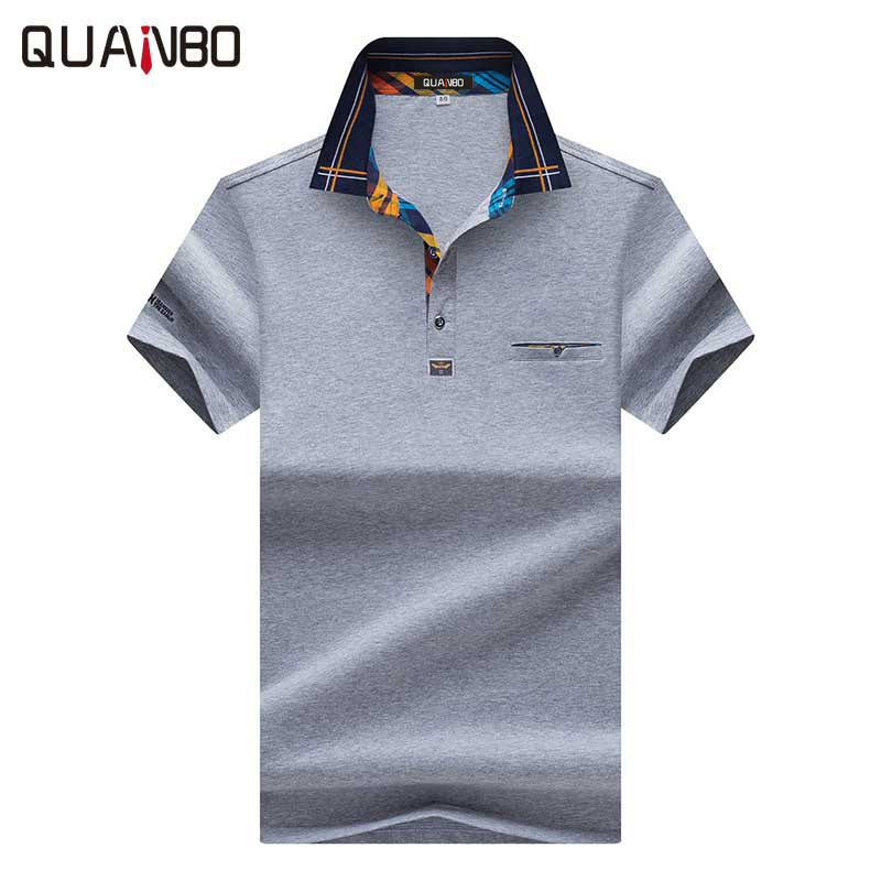 Lexiu Yibai Star of David Deluxe Jew Embroidery Long Sleeve Polo Shirts