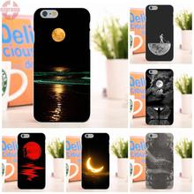EJGROUP Fashion Amazing Nice Moon For Apple iPhone 6 6S 4.7 inch Soft TPU Silicon Top Selling
