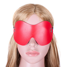 Buy Blindfold Bondage Restraints S&M PU Leather Sexy Erotic Toys Cosplay Eye Mask Woman Fetish Slave Sex Game Adult Sex Product