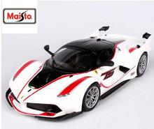 Maisto Bburago 1:24 FXX K White Diecast Model Car Toy New In Box Free Shipping