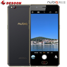 "ZTE Nubia N2 5000mAh Mobile Phone 5.5"" HD 4GB RAM 64GB ROM 16MP+13MP Octa Core Front Fingerprint ID Special Camera 4G Smartphone(China)"