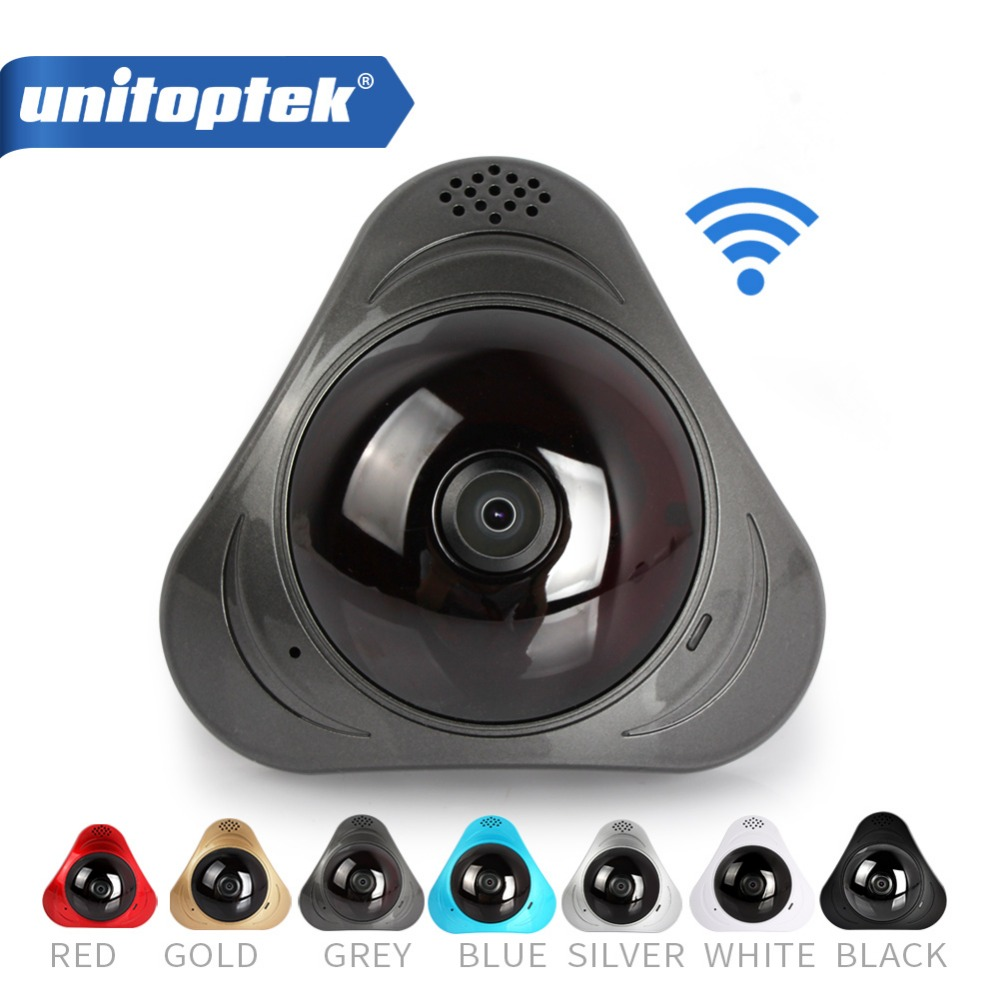 960P 3D VR WI-FI Camera 360 Degree Panoramic IP Camera 1.3MP FIsheye Wireless Wifi Smart Camera TF Card Slot IR 10M <br>