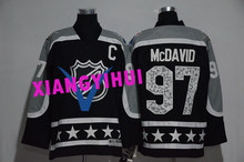 Free shipping 2017 High Quality New Style Alles hot starly Ice Hockey Jerseys McDAVID #97