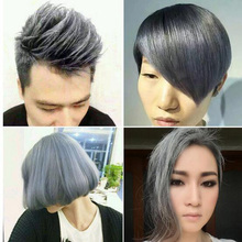 Arsychll Grandma Gray Hair Dye Wax Hair One-time Molding Paste 80g Does Not Hair Hurt Silver Gray Dye Fifty Degrees Grey Hair