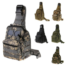 Men's 1000D Nylon Messenger Bag Leisure Camouflage Tactical Shoulder Bag Waterproof Outdoor Sport Shopping Camping Hiking Bags(China)