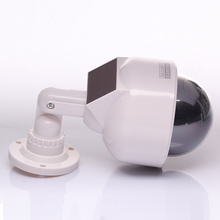 Solar Energy Home Surveillance Security Dummy IR Simulation Camera Waterproof LED Flashing Surveillance cameras
