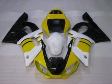 Fairing Kits YZF R6 2000 Bodywork YZFR6 2001 1998 - 2002 Yellow White Black Abs Fairing for YAMAHA YZFR6 00 01