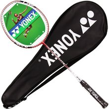 2017 New arrival YONEX Isometric LITE3 NANO full CARBON badminton raquete with string strung racket yy iso(China)