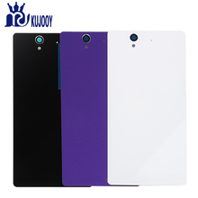 Buy Rear L36 Battery Back Cover Sony Xperia Z L36H L36 C6603 C6602 LT36 Battery Door Back Case Housing Adhesive for $2.60 in AliExpress store