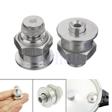 2X Silver Tone Replacement Cookware Pressure Cooker Safety Valve Part Kitchen HG3737X2(China)