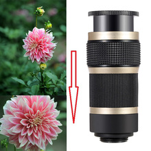 2017 HD 8X Zoom Telephoto Phone Lens With Clips Camera Telescope Lens For ZTE blade v7 lite Meizu m3e m2 mini m3s mx4 m2 note(China)