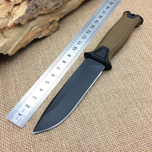 1500 Camping Tactical Knife,12C27 Steel Blade Hunting Survival Knife,Rescue Fixed Knives.