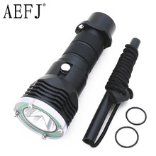 5000 Lumen 10W XML-L2 LED Diving Flashlight LED Diving Torch Lantern Waterproof 100m Diver Flash Light Lamp USE 18650 OR 26650(China)