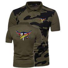 Añadir a Lista de deseos. Verano hombres Polo camisa hombres Casual  camuflaje masculino polos Camisas manga corta Jersey americano SWAT policía 9b061fb1c7eb6