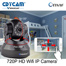 HD 720P Wifi IP Camera with Eye4 App Network wireless IP Camera support 64GB Card Onvif 2.0 H2.64 P2P indoor Vstarcam C7837WIP