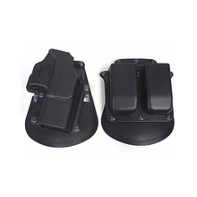 Tactical Airsoft Holster & Mag Pouch Set For Glock 19/23/25/28/32 - Right Handed Black Wholesale