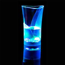 Christmas Colorful LED Beer Cup Novelty Beer Mugs With Flash Light Shot Drink Glass Bar KTV Night Club Kitchen Accessories