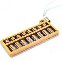 Creative Abacus Imitation Mahogany Mobile Phone Chain, Mobile Phone Pendants Wholesale