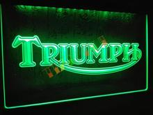 LG051- Triumph Motorcycles Services Repairs Neon Sign home decor shop crafts