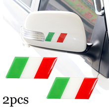 2pcs New car sticker Italy Decorative Badge car body for VW AUDI Skoda Seat Mazda Toyota Renault alfa fiat Car Emblem Sticker