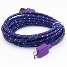 3M 5Gbps Long Micro USB 3.0 Micro Charging Data Sync Line Rope Wire Cord Cable For Samsung S5 Note3 I9600 N900 N9000 N9006 N9002