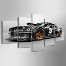 2017 Sale Rushed Modern Combined Hd For Mustang Rtr Car Painting Canvas Print Room Decor Picture Free Shipping/ny-1883