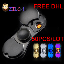 50PCS/LOT Free DHL Cigarette Lighter Multifunction Outdoor EDC Tool Hand Spinner Anti Reduce Stress Fidget Toy Boring Annoying