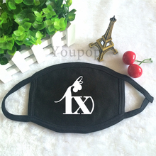Wholesale KPOP f(x) album FX Animation Antidust Cotton Mouth-muffle Masques black Face Mask P1398 P1399