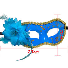 Tattoo sticker 1 PC Sexy Women Black Lace Eye Face Mask Masquerade Party Ball Prom Costume Charms tattoo stickers dropship Dec25(China)