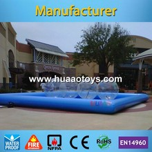 Commercial 8*8m Inflatable Swimming Pool for Adult and Kids(Free air pump+free shipping)(China)