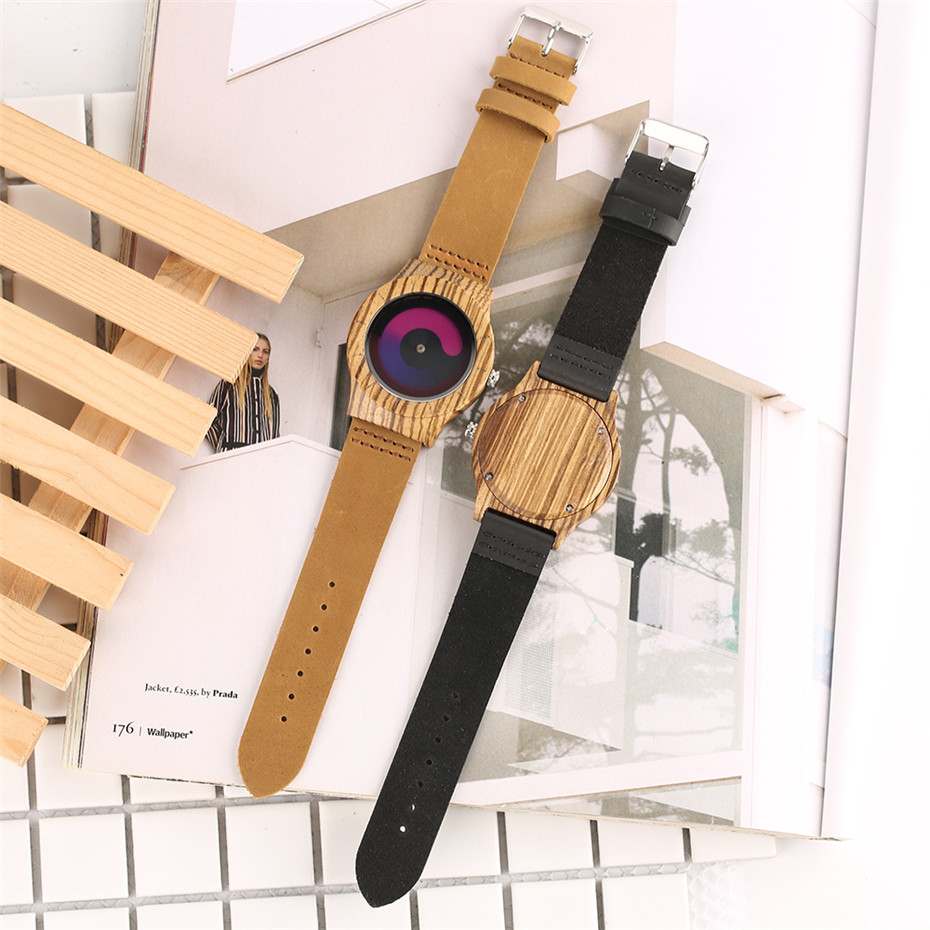 nature wood watch creative watches men12