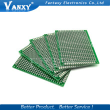 10pcs 5x7cm 5*7 Double Side Prototype PCB diy Universal Printed Circuit Board Free shipping(China)