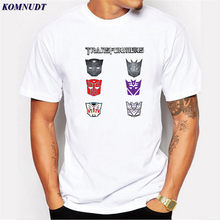 KOMNUDT 2017 Newest Fashion Science Fiction Film Mark Design Men T-Shirt Summer Short Sleeve Cool Casual Tops Hipster Tee Shirts(China)