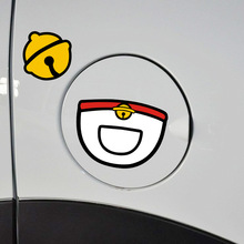 Lovely Fashion Doraemon Small Bell Car Stickers Decoration Accessories Fuel Tank Cap Cover Z-062