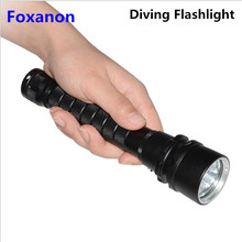 4800LM 3 Leds Diving Flashlight IP68 Waterproof CREE XM-L L2 U3 Diving Flashlights Torch light For Underwater Diver lighting