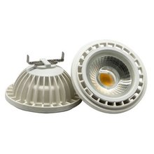 AR111 QR111 ES111 GU10 LED lamp 15W Input AC DC 12V spotlight cob light Ampoule G53 warm white / cool white dimmable bulbs(China)