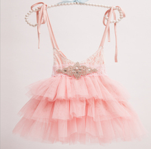 New Children Baby Fairy Lace Cake Sling Dresses With Shine Belt, Girls Princess Fashion Dress 5 pcs/lot, Wholesale